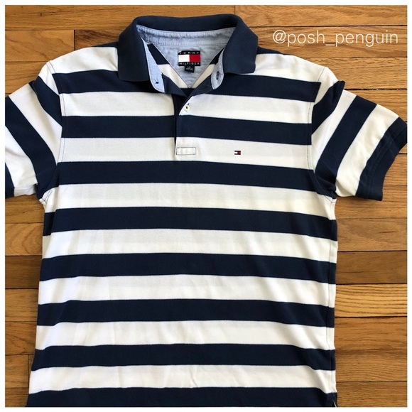 da759f76d Vintage Tommy Hilfiger Striped Polo M. M_5a69096345b30ce670f67e39. Other  Shirts ...